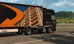 [ETS2 1.27] daf xf 105 510 krone trailer DLc france (trucker on the road) Tags: ets2 127 daf xf 105 510 krone trailer dlc france