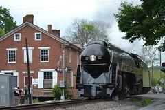 DSC_0298 (Andy961) Tags: delaplane virginia va railway railroad train norfolkwestern nw classj steam locomotive engine 484 611