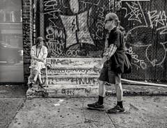 Lower East Side (Roy Savoy) Tags: bw blackandwhite bnw people streetphotography street city roysavoy nyc newyorkcity newyork blacknwhite streets streettog streetogs ricoh gr2 candid flickr explore candids photography streetphotographer 28mm nycstreetphotography gothamist tog mono monochrome flickriver snap digital monochromatic blancoynegro