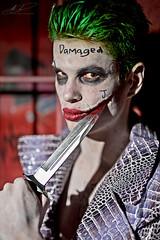 Joker's bloody grin (andybrooks29) Tags: canoneos5dmarkiv cosplay canberra australiancapitalterritory canon sigma 50mm f14 art