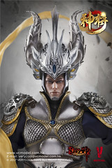 VERYCOOL TOYS VCF-DZS004 神将捍天 Exiled GOD - 07 (Lord Dragon 龍王爺) Tags: 16scale 12inscale onesixthscale actionfigure doll hot toys verycool