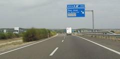 A-23-2 (European Roads) Tags: a23 autovía zaragoza zuera huesca españa aragón spain motorway