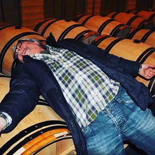 #sdraiatosullabarrique #winerylovers #lyingdownonthebarrel #Couchersurbarrique #chateaux #cantina #wine #furtivo #stealthy #furtif #verstohlen #barrique #france #italy #vino