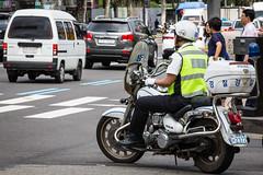 (seua_yai) Tags: street city urban car automobile asia go wheels korea motorbike korean seoul motorcycle southkorea urbanmobility korea2015 koreaseoul2015