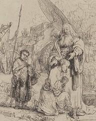 Rembrandt van Rijn Study for The Baptism of the Eunuch Netherlands (1641) Gallica Digital Library (medievalpoc) Tags: art history netherlands sketch drawing baptism study rembrandt eunuch the 1600s medievalpoc