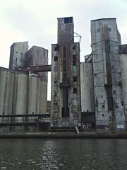(Matt Allouf) Tags: new york river buffalo industrial state elevator grain western explorebuffalo elevatoralleykayak