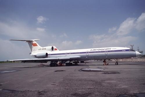 CCCP-85105 Tupolev TU-154B Aeroflot