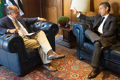 Nicolas Sarkozy and Geraldo Alckmin (Leonardo Benassatto (11) 941232698) Tags: brazil sarkozy