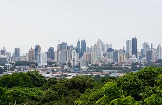 Panama City as seen from The Metropolitan Natural Park (2015)