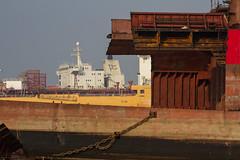 Shipbreaking, Alang India (AdamCohn) Tags: india adam metal ship labor environment scrapyard shipyard salvage gujarat scrapmetal cohn alang shipbreaking scarapping adamcohn wwwadamcohncom