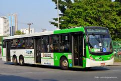 1 1843 (American Bus Pics) Tags: urban bus colors buses mercedes automotive millennium caio paulo barra são brt scania omnibus funda