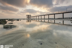 Kuwait - Fintas - The Sunrise Reflection (Sarah Al-Sayegh Photography | www.salsayegh.com) Tags: clouds sunrise landscape photography dramatic kuwait fintas stateofkuwait leefilters canoneos5dmarkiii wwwsalsayeghcom sarahhalsayeghphotography infosalsayeghcom