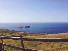 Ilhus das Cabras (MayU Mi) Tags: sea cliff seascape portugal landscape island coast shore paysage terceira azores iphone le ocan ribeirinha ilhusdascabras vscocam