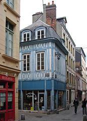 Rouen (Maxofmars) Tags: street city france calle frankreich strada strasse ciudad rouen stadt normandie frankrijk rue normandy francia ville citta colombage straat