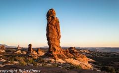Garden of Eden, Arches NP Utah, at sunset (Rijko) Tags: usa utah us moab archesnationalpark archesnp verenigdestaten