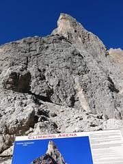 Seems to be the right rock - Fünffingerspitze Dolomites South Tyrol Italy (claromann) Tags: gröden canon alpen alto sella südtirol passo adige dolomiten langkofel g15 langkofelgruppe sellajoch claromann