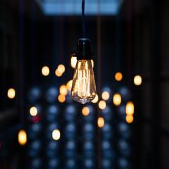 Edisson's (Craignos) Tags: light bulb hotel scotland glasgow malmaison edisson