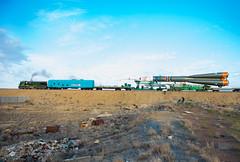 Expedition 41 Rollout (201409230021HQ) (NASA HQ PHOTO) Tags: train nasa kazakhstan baikonur rollout baikonurcosmodrome soyuzrocket expedition41 russianfederalspaceagencyroscosmos aubreygemignani soyuztma14m