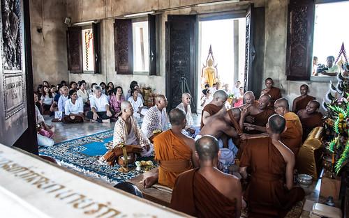 Monk ordenation in Hua Hin, Thailand