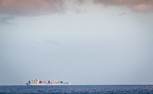 Cargo Ship From Apollo Bay