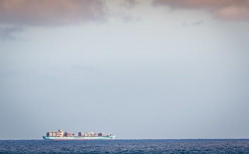 Cargo Ship From Apollo Bay