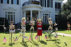 presidential candidates and arrogant political dogma (lucymagoo_images) Tags: new halloween orleans louisiana sony neworleans nola skeletons rx100 lucymagoo lucymagooimages