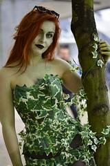 MCM CC Poison Ivy (kriskproductions) Tags: startrek dragon zombie ironman assemble thor comiccon captainamerica poisonivy avengers excellondon mcmcomic kriskproductions