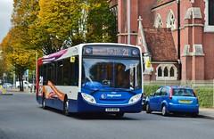 27868 GX13AON (PD3.) Tags: uk england bus buses 21 hampshire portsmouth 300 20 aon branding stagecoach enviro psv pcv adl hants 27868 gx13 gx13aon
