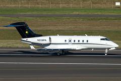 N228PK (sabian404) Tags: oregon cn portland airport ducks international pdx 300 challenger bombardier 20011 kpdx bd100 cl30 n228pk