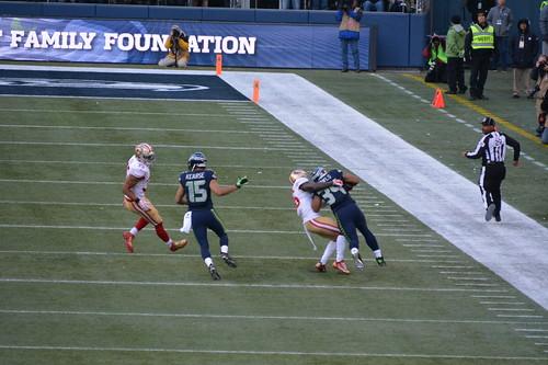 2015 Seahawks vs. San Francisco 49er game
