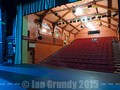 Grantham Guildhall 6873 (stagedoor) Tags: uk england copyright cinema building architecture teatro town kino theater theatre interior stage victorian olympus cine lincolnshire inside seating stalls grade2 listed artscentre em1 grantham eastmidlands williamwatkins stpetershill southkesteven guildhalltheatre