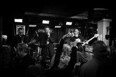 Club Gig (@Tuomo) Tags: blackandwhite bw monochrome rock club finland nikon df gig band nik jyvskyl highiso 12800 poppari silverefex hulluaasi