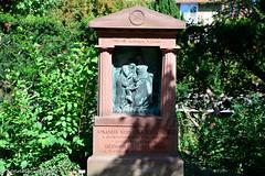 (Kenneth Gerlach) Tags: summer denmark outdoor dk danmark kbenhavn titel hellerup kirkegrd gravsten gravsted gravplads capitalregionofdenmark skoleforstander erhvervtitel