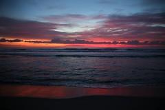 Viareggio (Stefano-Bosso) Tags: winter sunset red sea sky italy costa beach clouds canon landscape tramonto nuvole mare waves colours nuvola cielo tuscany acqua calma spiaggia paesaggio viareggio oceano crepuscolo litorale bagnasciuga tirreno stefanobosso