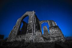 DSC_2899_1 copy (bullettniko) Tags: longexposure bw church stars raw moonlight 14mm covehithe nikond4 1424mm nikon1424mm