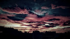 El fin del mundo... (AMínguezm) Tags: city sunset sky españa clouds landscapes spain europa europe cielo nwn supershot citylandscapes lovelyclouds