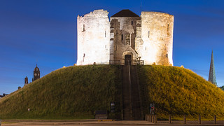 Clifford's Tower on a Summer's Night