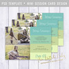 Layered Photoshop Template (daphnepopuliers) Tags: psd photoshop adobe template layered photocard photostudio photographer photography business marketing