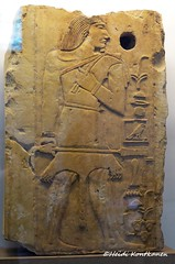 Nibunesut (konde) Tags: nibunesut 4thdynasty oldkingdom relief tombrelief ancientegypt limestone britishmuseum art hieroglyphs hathor goddess dendera