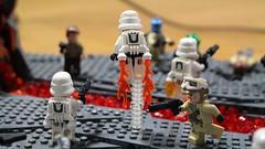 Battle of Sullust (TWC Productions) Tags: lego star wars stormtrooper battle sullust sorosuub centroplex