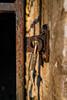 Lock and Key (Brian Schuessler) Tags: lock padlock iron rust gate stone light dark locked nikond5500 sigma3514art