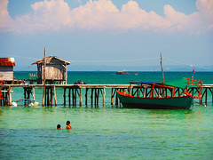 Cambodian dream - Koh Rong Samloem -Cambodia (syssy70) Tags: cambodia koh rong samloem saracen bay sea mare swimming seascape holiday mer dream cambodian olympus