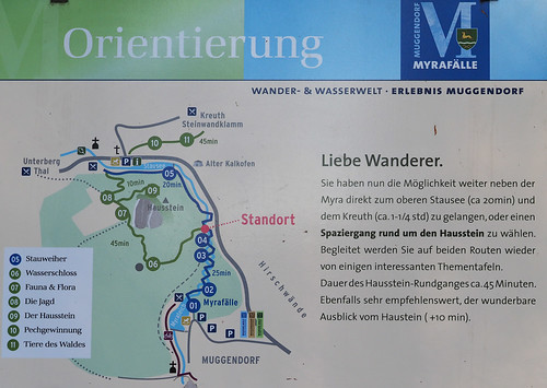 Muggendorf Mirafälle Naturdenkmal Niederösterreich Wasserfälle