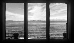 Dark window (carmenalejandra.delatorre) Tags: blackandwhite photography canon 60d window bay sanfrancisco sea city