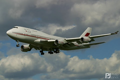 Bahrain Royal Flight 747-400 A9C-HMK (philrdjones) Tags: 2006 747 747400 7474p8 a9chmk april bahrainroyalflight boeing jet jumbo myrtleavenue