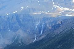 Glacial Melt (Patricia Henschen) Tags: banff banffnationalpark nationalpark icefieldsparkway park parks parcs parkscanada peyto lake bowsummit peytolake mistayariver glacier creek rockflour mountains mountain canadian canadianrockies rockies rocky rockymountains clouds waterfall