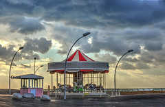 There is sun after the storm (ido1) Tags: storm sun weather merrygoround carousel carrousel telaviv hdr
