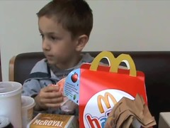 Adrian Macca's Happy Meal (Down Under Photography) Tags: adrian aef cheeseburger food hamburger happymeal maccas mcdonalds son vid video
