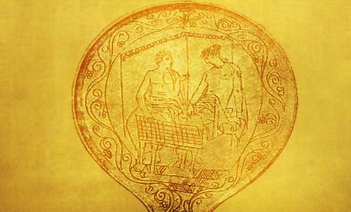 "Petteia - Ludus Latrunculorum  / Iconografía de las civilizaciones helenolatinas • <a style=""font-size:0.8em;"" href=""http://www.flickr.com/photos/30735181@N00/32143092540/"" target=""_blank"">View on Flickr</a>"