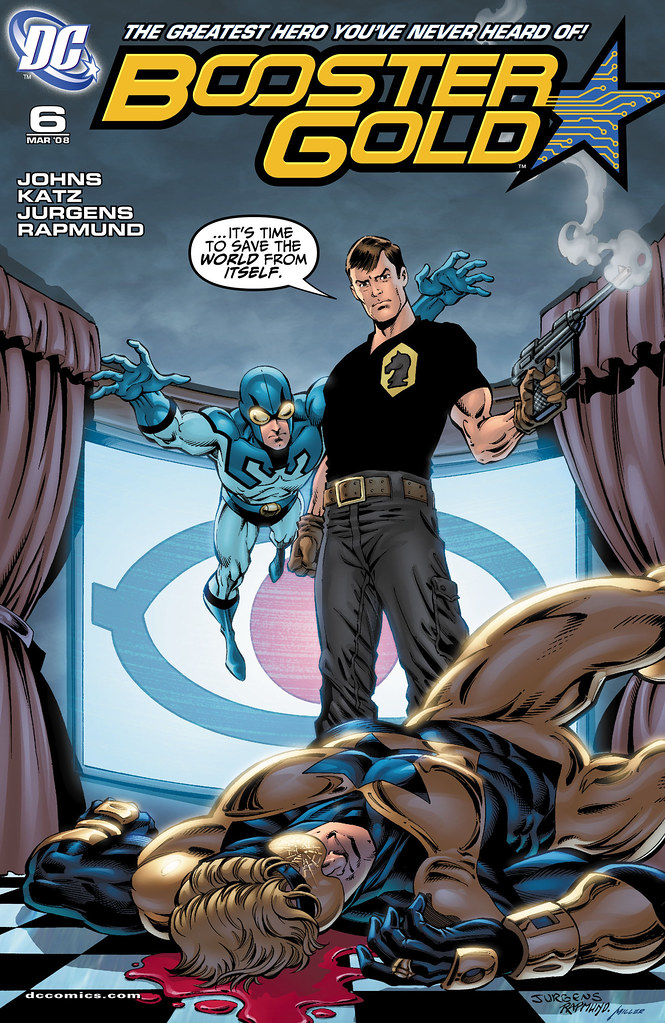 Booster Gold (2007) #6